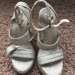 Michael Kors wedge sandal size-7